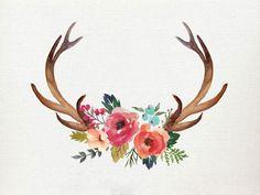 Create Flowered Antler Art | Decide on a Design | CraftCuts.com