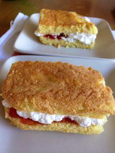 Homemade easy strawberry short cakes