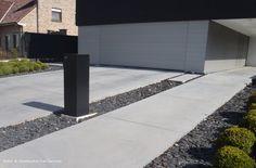 Oprit in beton | Beton- & Grondwerken Van Gaeveren NV