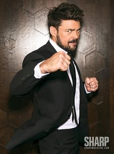 Let Karl Urban Show You How to Dress for Success this Fall Hot Actors, Actors & Actresses, Star Trek, Karl Urban Movies, Dominic Cooper, Raining Men, Taylor Kitsch, Dress For Success, Celebrity Crush