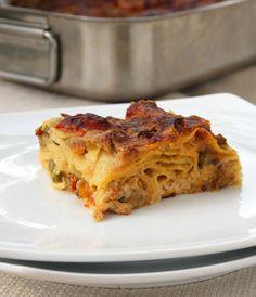 Visto il surplus di verdure, dopo aver fattol'insalata di pastacon il resto, ho deciso di fare una lasagna. Qui in Friuli e zone limitrofe, la chiamiamo (impropriamente, lo so) pasticcio. Tutto...