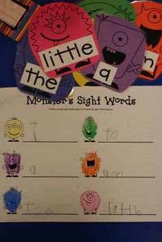 Mrs. Lee's Kindergarten: September 2011,   Also great activity on labeling and and writing