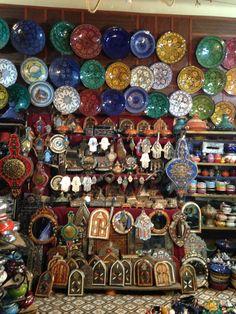 Tienda de artesanía