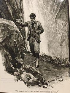 The Final Problem, Sidney Paget, The Strand Magazine, December 1893
