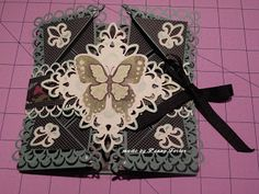 Peak Hearts: Napkin Fold Card