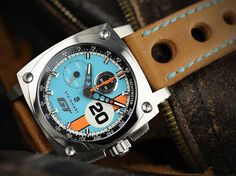 The Steinhart Le Mans GT Heritage Chronograph represents an evolution of the brand and a watch worth digging deeper into. Old Watches, Swiss Army Watches, Best Watches For Men, Fossil Watches, Luxury Watches For Men, Vintage Watches, Unusual Watches, Latest Watches, Wrist Watches