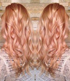 Light Strawberry Blonde Hair Color