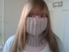Bits & Bobbles : Crocheted Neck Warmer Pattern