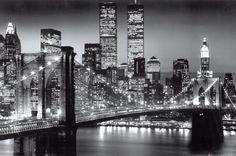 ニューヨーク・マンハッタン・ブラック - ベレンホルツ ポスター