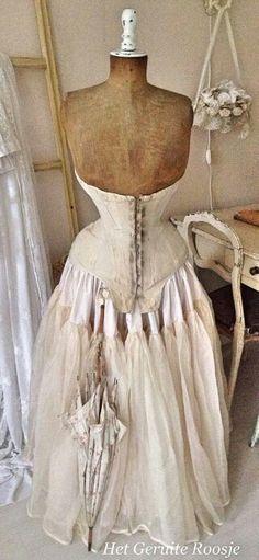 Beautiful vintage dress form