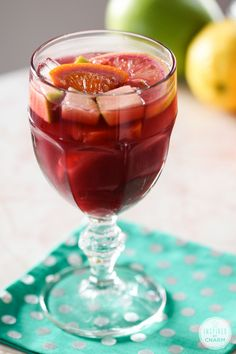 Sangria Tinto - simple and really tasty recipe!