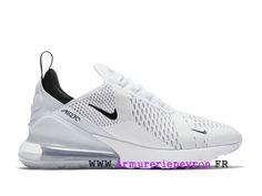 another chance 0ee66 91a94 Blanc   noir Nike Air Max 270 Chaussure de course Pas Cher Prix Homme  AH8050-100