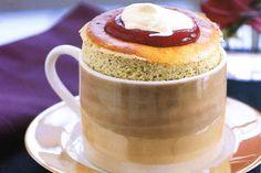 Vanilla & Pistachio Souffle With Raspberry Sauce Recipe - Taste.com.au