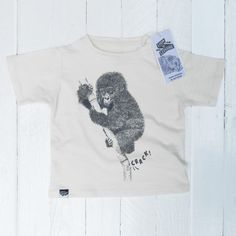 Lion of Leisure Chimp T-Shirt - Hip And Green