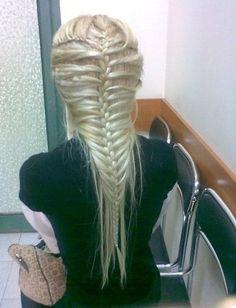 # fishtail braid # french braid