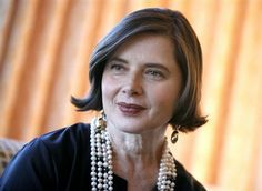 "Actress Isabella Rossellini - the previous pinned had this under ""people I want to have dinner with"". I guess I should make a board ""awesome Italian actresses I HAVE had dinner with"". ;)"