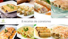 8 recetas de canelones