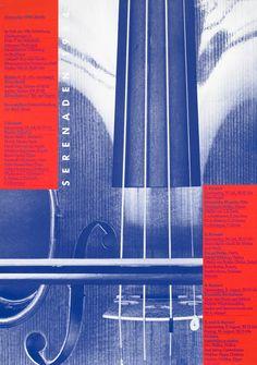 Serenaden 1984 by Odermatt/Tissi | Shop original vintage posters online: www.internationalposter.com