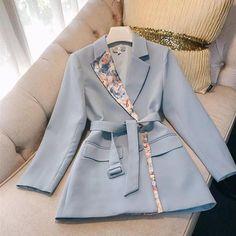 Blazer Fashion, Suit Fashion, Hijab Fashion, Fashion Dresses, Modest Fashion, Classy Outfits, Chic Outfits, Coats For Women, Clothes For Women