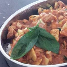 Chicken Cacciatore * i made it with carrot, zucchini & capsicum as i had no mushroom. * also sub wine with water