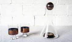 Tom Dixon Glass and Copper Tank Decanter Source: spartan-shop.com