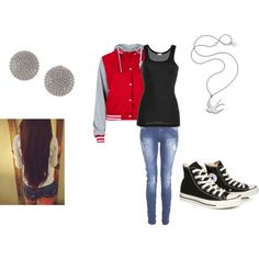 """Varsity!"" by kaylee-kimberlin on Polyvore"
