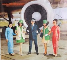 Fly back to the 1960s with these vintage Thai air hostesses (PHOTOS)