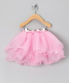 Take a look at this Pink Whimsical Tutu - Toddler & Girls by Born Posh on #zulily today!
