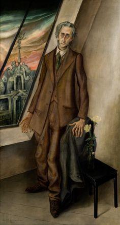 Otto Dix, Portrait of the Lawyer Dr. Hugo Simons,