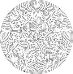 Coloriage Mandala Rond.149 Meilleures Images Du Tableau Coloriages Mandalas Coloring