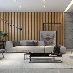 Living | Um projeto que une madeira, concreto e design! Para este decor escolhemos uma paleta sóbria, ripas de madeira e peças de design que ficam em sintonia total neste living. Vocês gostaram?😍 ⠀⠀⠀⠀⠀⠀⠀⠀⠀⠀ ⠀⠀⠀⠀⠀⠀⠀⠀⠀⠀ ⠀⠀⠀⠀⠀⠀⠀⠀⠀⠀ ⠀⠀⠀⠀⠀⠀⠀⠀⠀⠀ ⠀⠀⠀⠀⠀⠀⠀⠀ ⠀⠀⠀⠀⠀⠀⠀⠀⠀ ⠀⠀⠀⠀⠀⠀⠀ ⠀⠀⠀⠀⠀⠀⠀⠀⠀⠀ ⠀parceria @camila_fleckarq