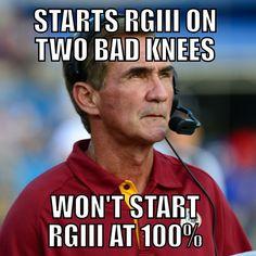 8cdb2e9668271df28d80774313b11c8d nba memes meme meme rg3 rgiii washington redskins shanahan plan injury comeback,Cowboys Vs Redskins Meme