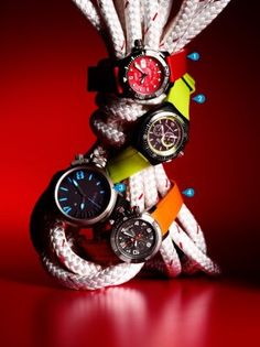 Fashion Pick: Bright Sport Watches for Diving : Daily Traveler : Condé Nast Traveler