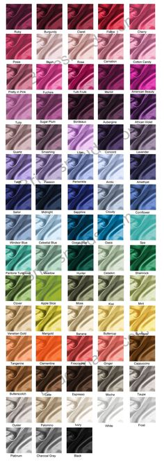 DESSY BRIDESMAID DRESSES Color Choices we've gone for smashing :) great colour name and beautiful too.