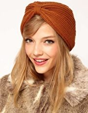 want it, ASOS Knitted Turban Hat