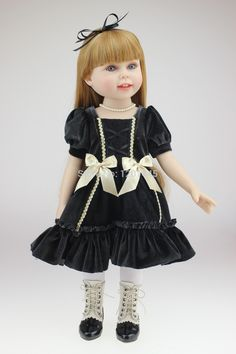 58.88$  Buy here - http://alit0h.worldwells.pw/go.php?t=32292190927 - 18inches fashion play doll education toy for girls birthday Gift 58.88$