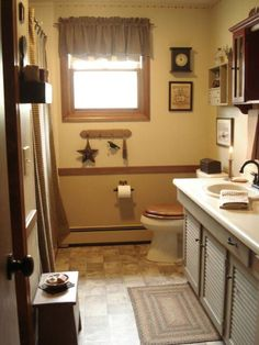 Image detail for -Colonial Primitive Bathroom