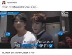 I'm fairly sure it was Jimin rather than Jungkook saying that XD