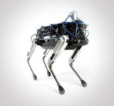 The Google Robot dog, Spot - A 160-pound electric robot designed by Boston Dynamics, a military robotics company acquired by Google in 2013—the same company, in fact, that has built sturdy robots that can run faster than Olympians, climb walls like Spiderman and jump as high as 30 feet.