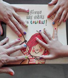 ¡Vivan las uñas de colores! / Alicia Acosta Musicals, Playing Cards, Album, Books, Children's Literature, School, Story Time, Poetry For Kids, Storytelling