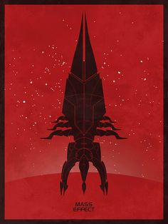 Mass Effect Reaper Video Games Poster Art Print by jefflangevin, $10.00