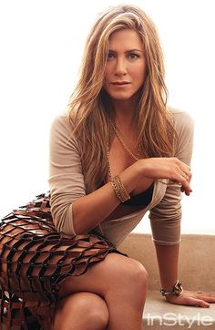 Jennifer Aniston's Oscar Hair Was Inspired by Her InStyle Shoot #InStyle