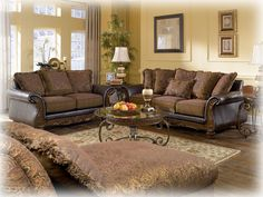 Shop Wilmington - Walnut Living Room Set with great price, The Classy Home Furniture has the best selection of to choose from Sofa Design, Interior Design, Interior Paint, Room Interior, Interior Ideas, Furniture Sets, Home Furniture, Outdoor Furniture, Modern Furniture