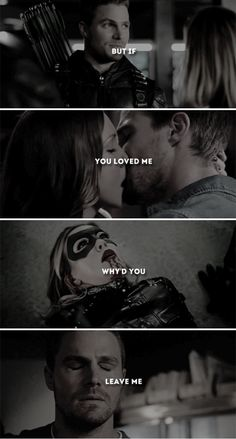 When you said your last goodbye, I died a little bit inside.  #arrow
