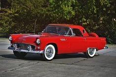 1956 Ford Thunderbird - Sold for $40,950