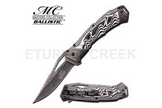 MC MASTERS COLLECTION MC-A021BW SPRING ASSISTED KNIFE