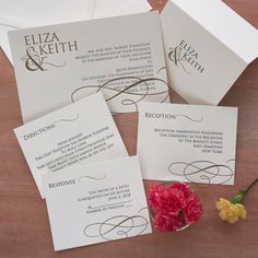 Classically Regal Invitations The American Wedding  http://www.theamericanwedding.com/classically-regal-letterpress-wedding-invitations.html
