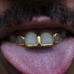 Gap Grillz, Open Face Grillz, Mouth Grills, Grills Teeth, Tooth Gem, Gold Teeth, Witch Fashion, Women's Fashion, Black Girl Aesthetic