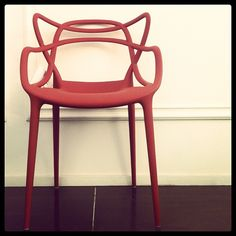 #Red lines - Masters by Philippe Starck