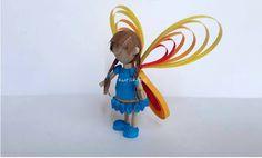 Quilled 3D Fairy Tutorial!